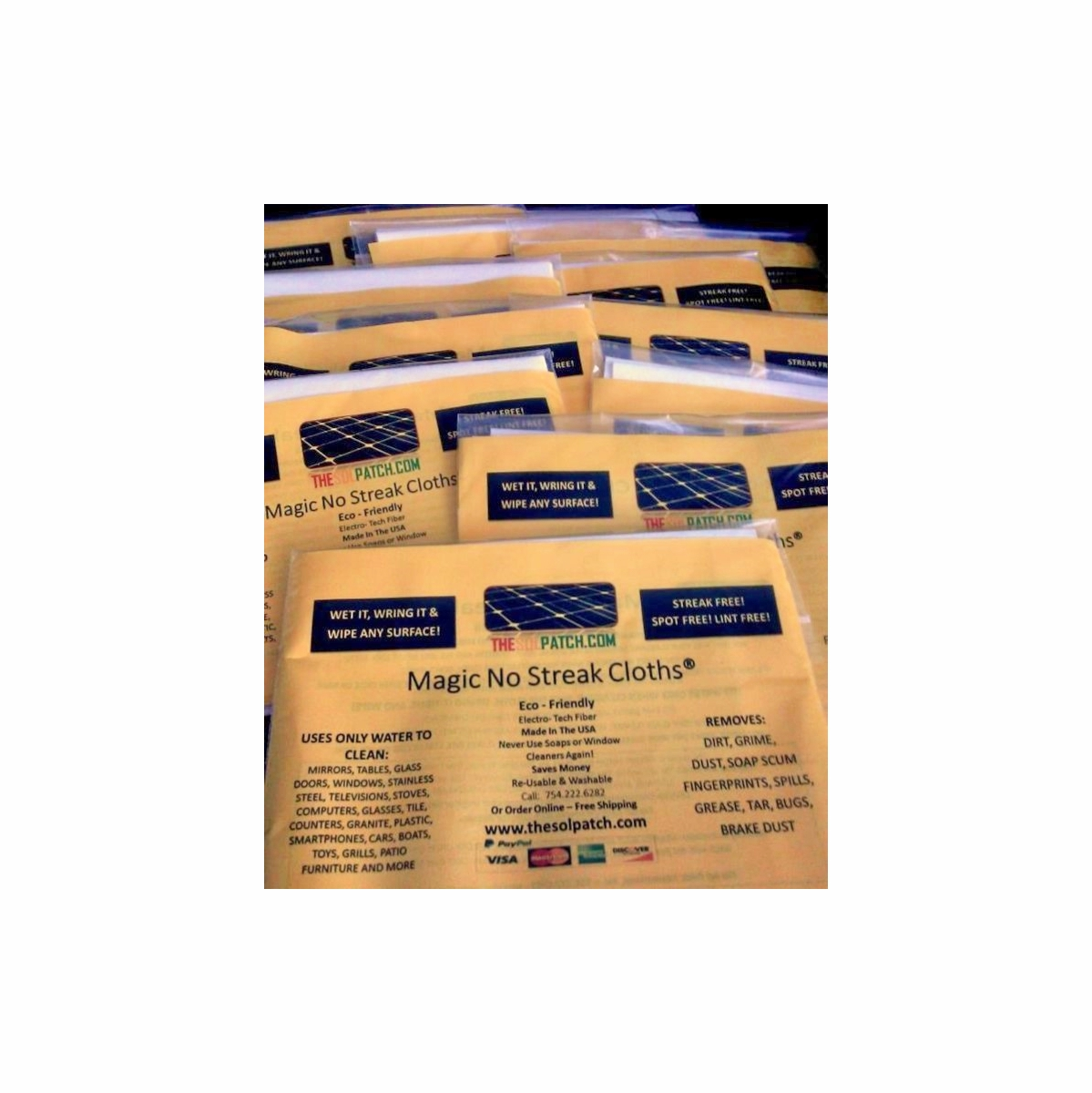 Magic Cloths - 50 Pack