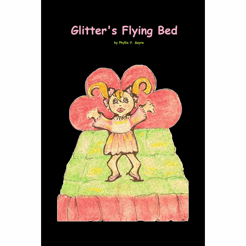 Glitters Flying Bed- Book