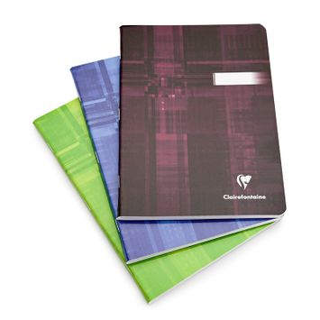 Clairefontaine Classic Large Side Staple Bound Notebook (6 x 8.25) in Graph (squared pages) [63682]