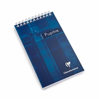 Clairefontaine Classic Pocket Top Spiral Bound Notepad (4 x 6.75)
