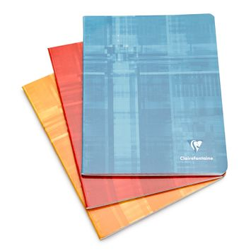 Clairefontaine Classic Side Staple Bound Notebook - French Ruled (6.50 x 8.25) in French Ruled (lined pages) [381]