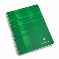 Clairefontaine Large Side Spiral Bound Notebook: Multiple Subjects (6.75 x 8.75)