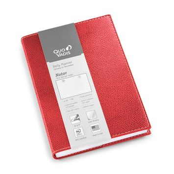 Quo Vadis 2021 Club Notor Planner (5 x 7) in Red