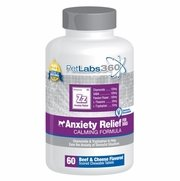 Anxiety Relief Calming Formula For Dogs, 60 Chewable Tablets