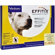 EFITIX Topical Solution For Dogs Up To 22.9 lbs, 3 Month Supply
