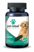 Pet Releaf Hemp Oil Capsules, 30 Count