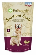 Superfood Treats for Dogs - Peanut Butter, 120 Chews
