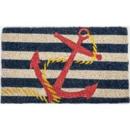 Anchor Handwoven Coconut Fiber Door Mat