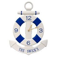 Anchor Personalized  Wall Clock