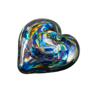 Anniversary Hearts of Fire Paperweight