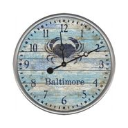 Blue Crab Clock Wall Clock