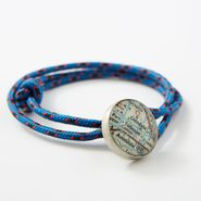 Blue Custom Rope Bracelet