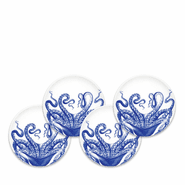 Blue Lucy Canap�s Set/4