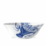 Blue Lucy Medium Serving Bowl