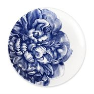 Blue Peony Coupe Dinner Plate