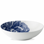 Blue Peony Wide Serving Bowl
