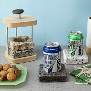 Sea Stones Can Chilling Coaster Set