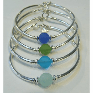 Cape Cod Colors Sea Glass Bracelets