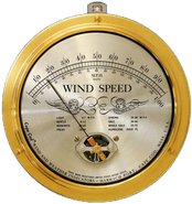 Cape Cod� Wind Speed with Peak Gust Feature