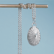 Cast Limpet Shell Necklace