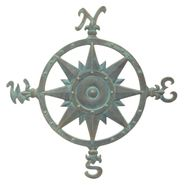 Compass Rose Wall Decor (BV)