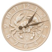 Crab Sea Life Indoor Outdoor Wall Clock (WL)