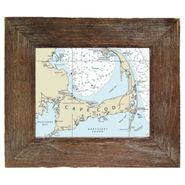 Custom Framed Nautical Charts