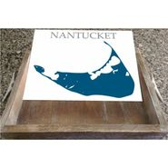 Customizable Lake or Location Serving Tray