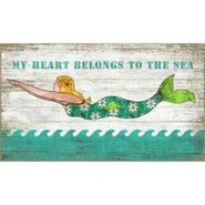 Diving Mermaid Wall Art