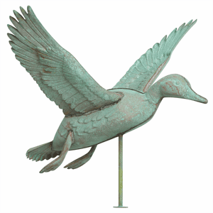 Duck Copper Weathervane