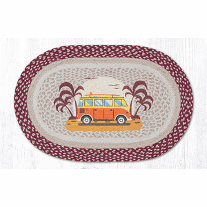 Endless Summer Oval Patch Rug