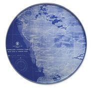 Everglades Chart Coupe Platter