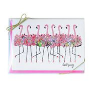 Flamingo Boxed Note Cards