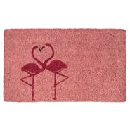 Flamingos Handwoven Coconut Fiber Door Mat