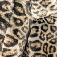 Grey Leopard  Luxury Blanket