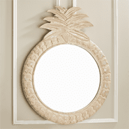 Hand Carved Pineapple  Mirror