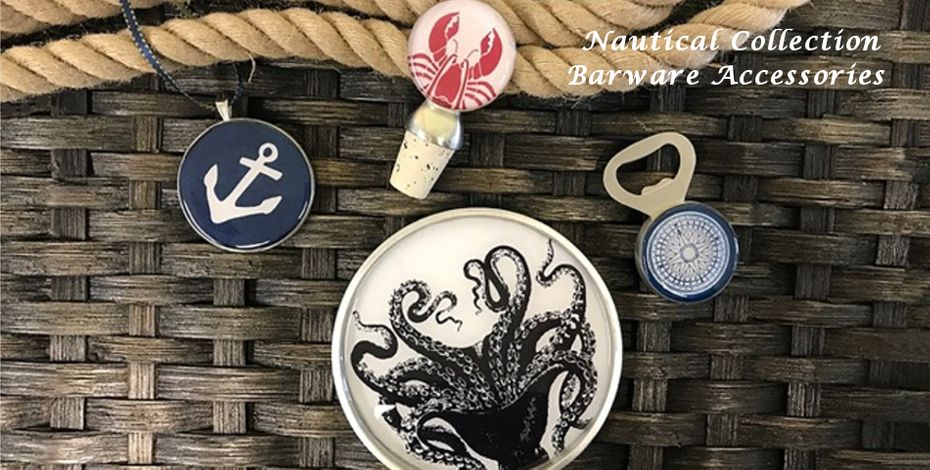 Shop our nautical collection of Barware Accessories!