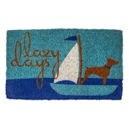 Lazy Days Handwoven Coconut Fiber Door Mat