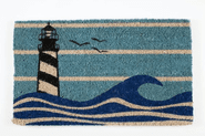 Lighthouse Hand Woven Coconut Fiber Doormat