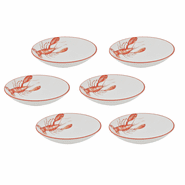 Lobster Pasta/Soup Bowls (set of 6)