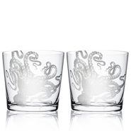 Lucy Octopus On-the-Rocks Glasses Set/2