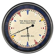 Maritime Signal Flag Wall Clock