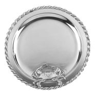 Masthead 14� Round Tray with Crab