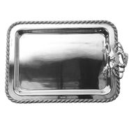 Masthead Medium Rectangular Tray with Crab