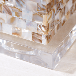 Mother of Pearl Table Lamp - S/2