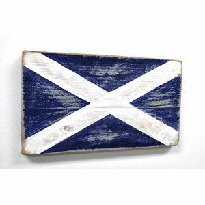 Nautical Alphabet Wooden Signal Flag - M