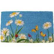 One Summer Day Handwoven Coconut Fiber Door Mat