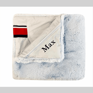 Pet Baby Blue Mink Blanket