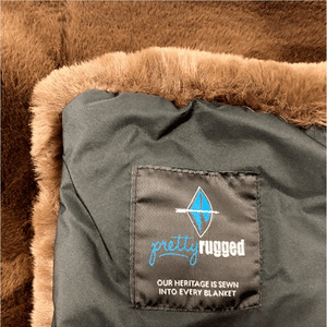 Pet Chocolate Brown Mink Blanket
