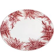 Poinsettia Large Oval Platter
